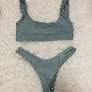 Zaful Sage Bikini (S)